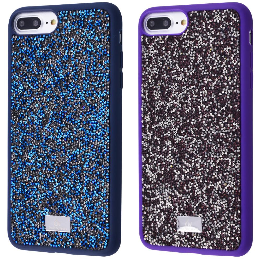 Bling World Grainy Diamonds (TPU) iPhone 6/6s Plus/7 Plus/8 Plus