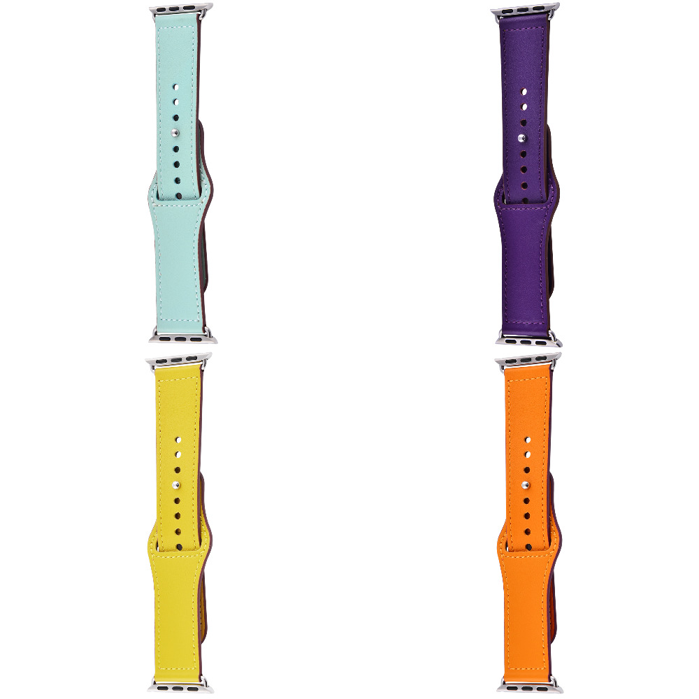 Ремешок Apple Watch Colourful Leather 38 mm/40 mm