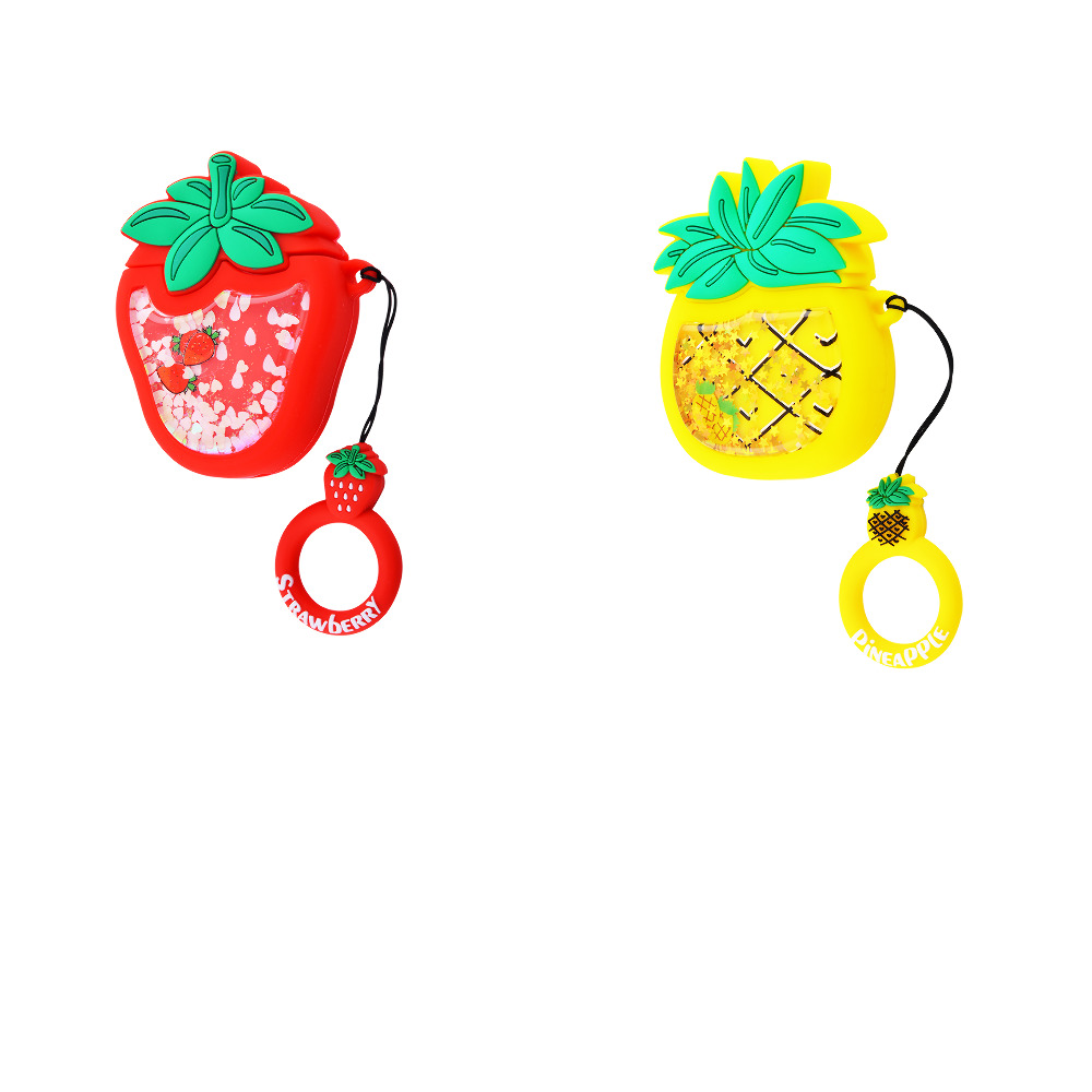 Fruits Case with Sparcles & Water for AirPods