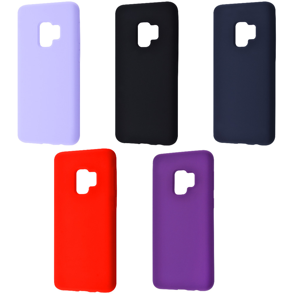 WAVE Full Silicone Cover Samsung Galaxy S9 (G960)