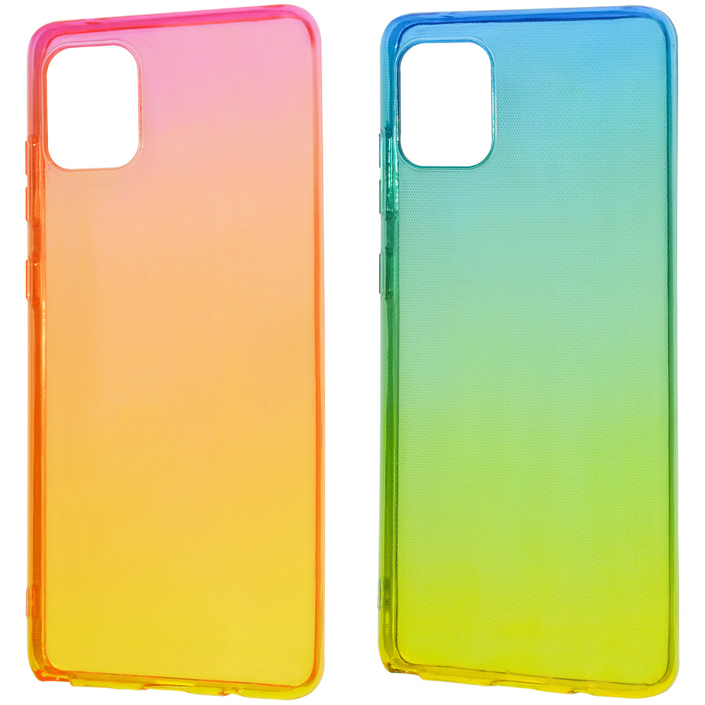 Силикон 0.5 mm Gradient Design Samsung Galaxy Note 10 Lite (N770F)
