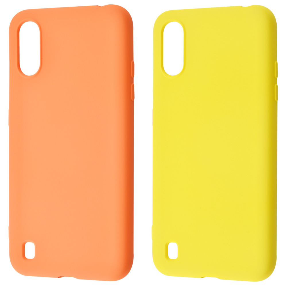 WAVE Colorful Case (TPU) Samsung Galaxy A01 (A015F)