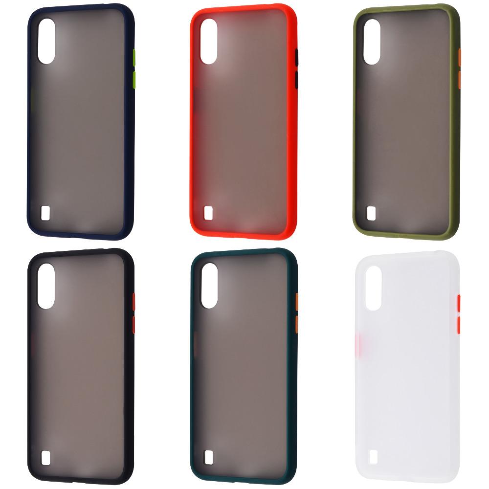 Matte Color Case (TPU) Samsung Galaxy A01 (A015F)