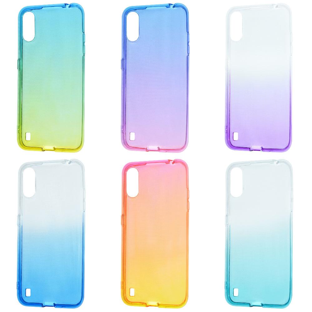 Силикон 0.5 mm Gradient Design Samsung Galaxy A01 (A015F)