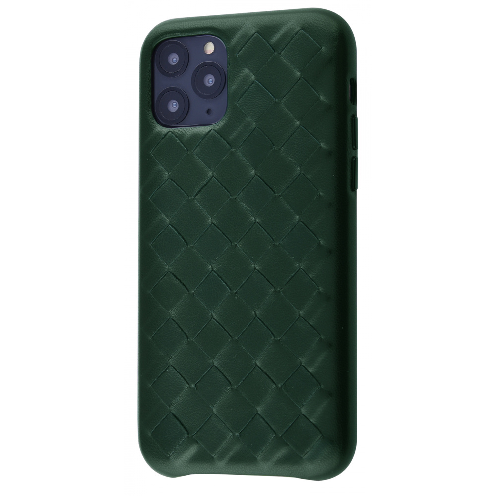 Natural Leather Weaving Case iPhone 11 Pro