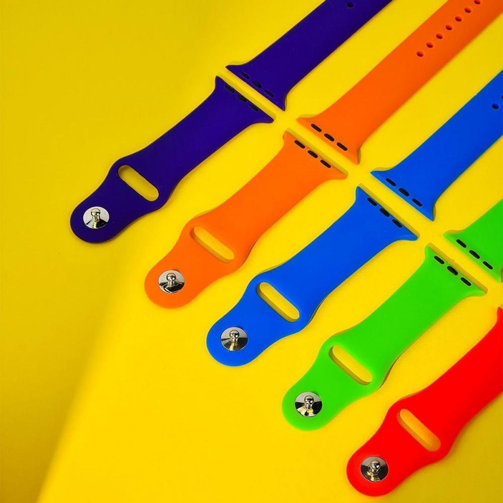 Ремешок Apple Watch Sport Band 42 mm/44 mm (M) 2pcs - фото 4