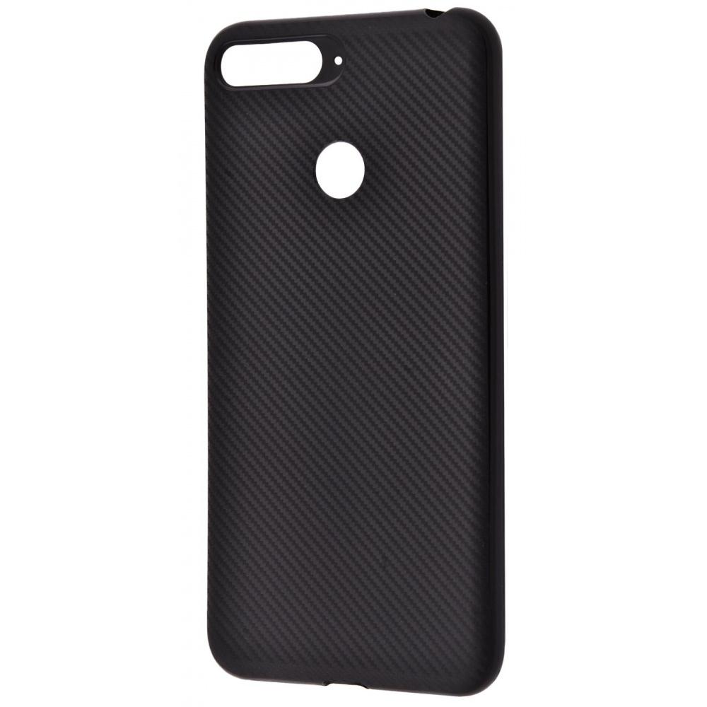 Carbon Protection Case (TPU) Huawei Y6 Prime 2018/7A Pro/7C/Enjoy 8e