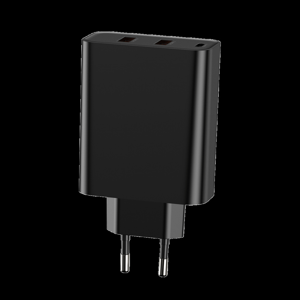 СЗУ Baseus PPS Three Output Quick Charger 60W (Type-C+2USB) - фото 6
