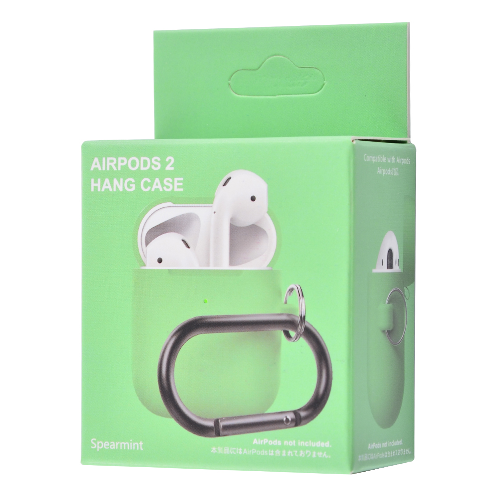 Silicone Case Slim with Carbine for AirPods 2 - фото 1