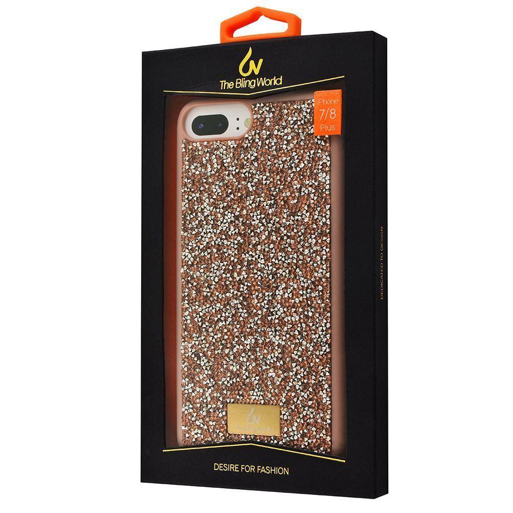 Bling World Grainy Diamonds (TPU) iPhone 6/6s Plus/7 Plus/8 Plus - фото 1