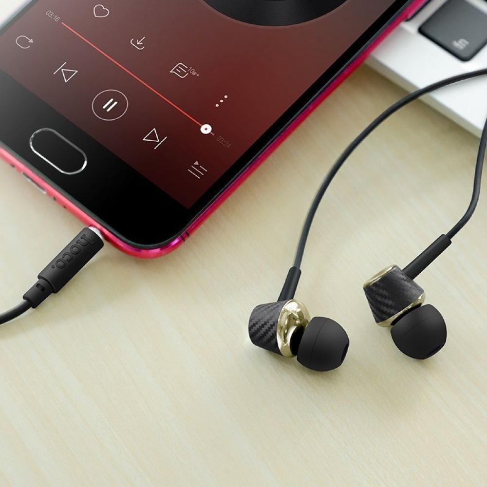 Наушники Hoco M70 Graceful Universal With Microphone - фото 2