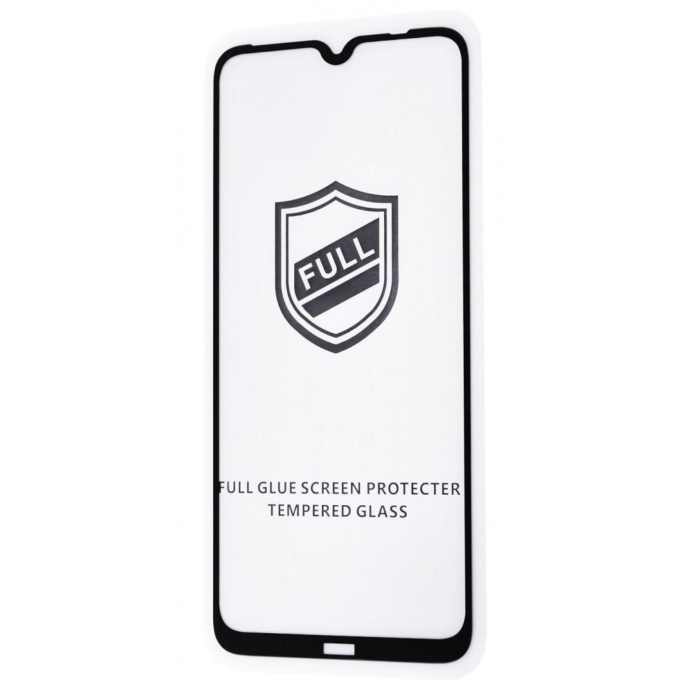 Защитное стекло Full Glue HQ Xiaomi Redmi Note 8 без упаковки
