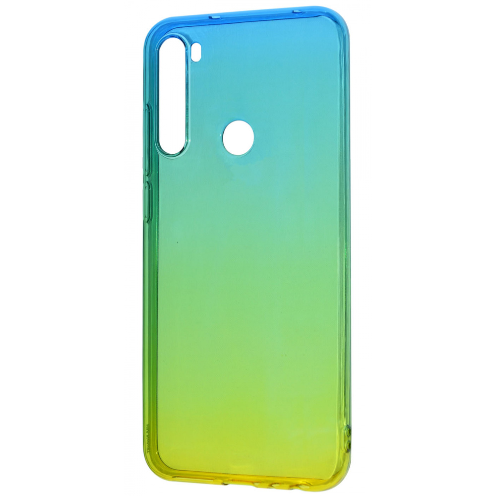 Силикон 0.5 mm Gradient Design Xiaomi Redmi Note 8T