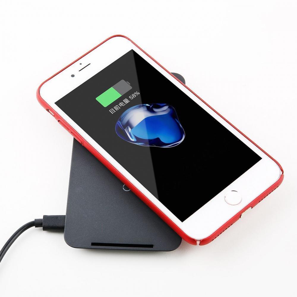 Переходник Для Беспроводной Зарядки Baseus Microfiber Receiver (For iPhone) - фото 3