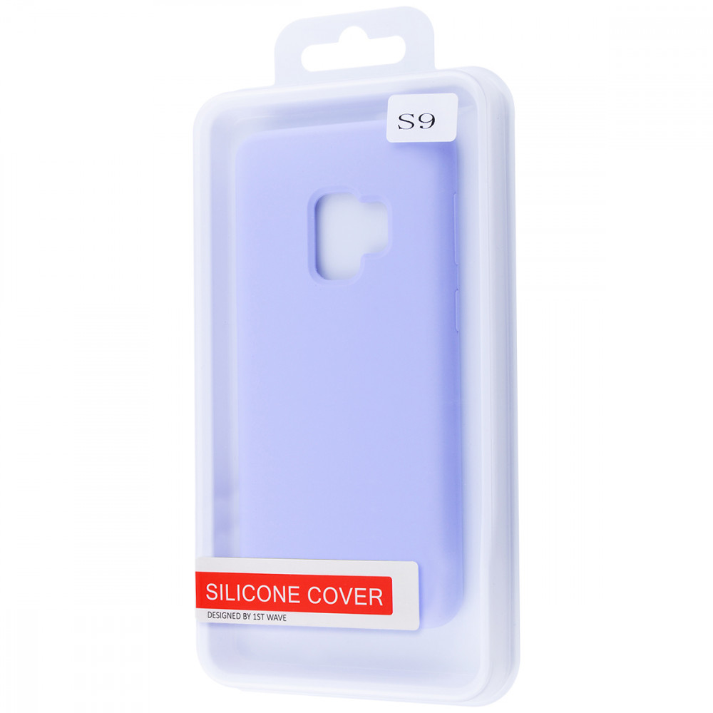 WAVE Full Silicone Cover Samsung Galaxy S9 (G960) - фото 1