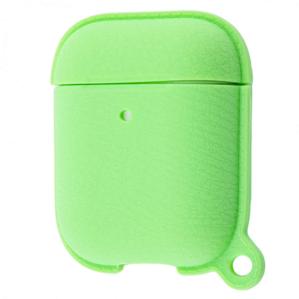 Silicone Leather Case for AirPods 1/2