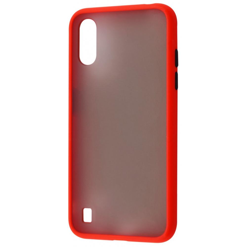 Matte Color Case (TPU) Samsung Galaxy A01 (A015F) - фото 1