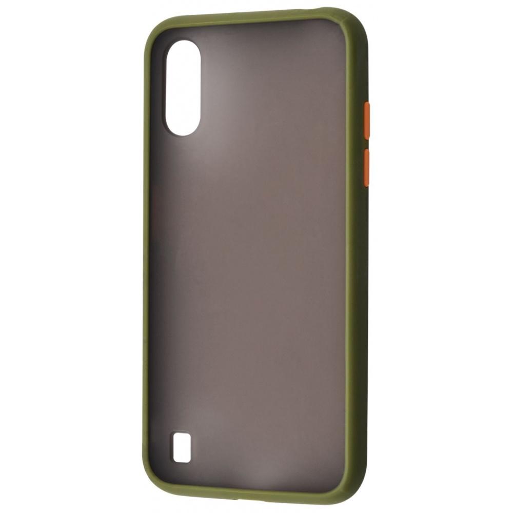 Matte Color Case (TPU) Samsung Galaxy A01 (A015F) - фото 2