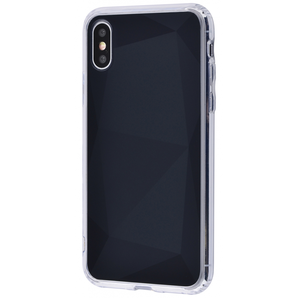Gradient Mirror Case Glass Effect (PC+TPU) iPhone Xs Max
