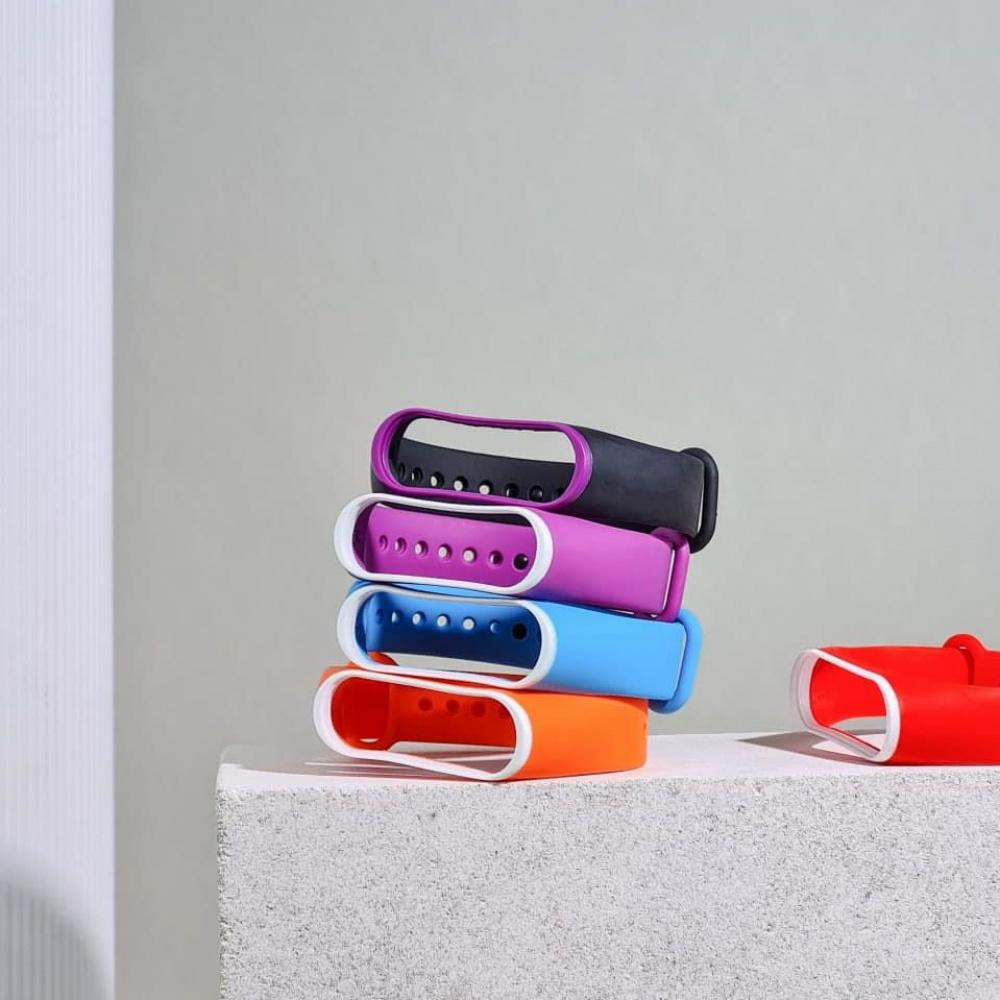 Ремешок Silicone Line Xiaomi Mi Band 3/4 - фото 2