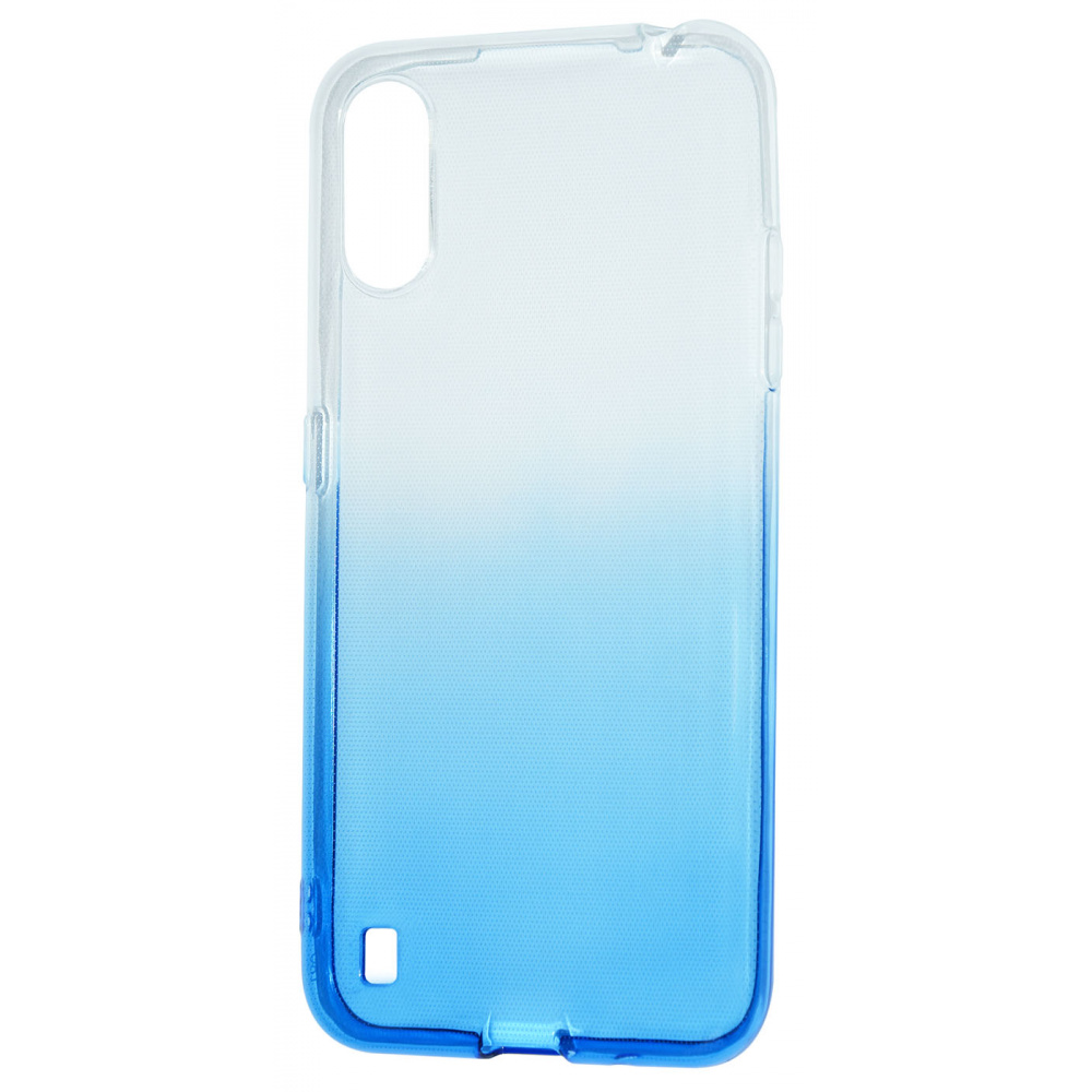 Силикон 0.5 mm Gradient Design Samsung Galaxy A01 (A015F) - фото 7