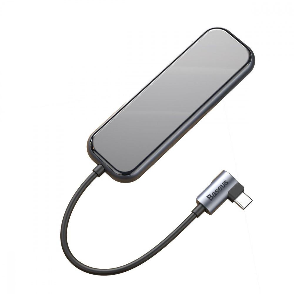 USB-Хаб Baseus Multi-functional (Type-C to 4xUSB3.0+PD) - фото 4
