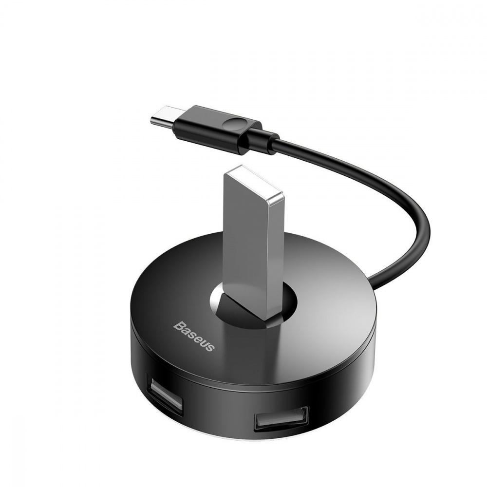 USB-Хаб Baseus Round Box USB to USB 3.0 + 3USB 2.0 - фото 3