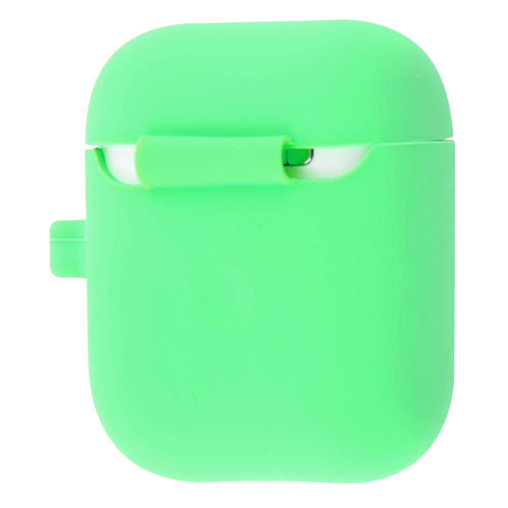 Silicone Case Slim with Carbine for AirPods 2 - фото 2
