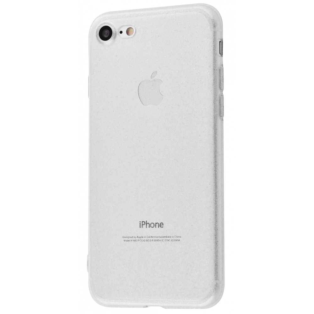 High quality silicone with sparkles 360 protect iPhone 7/8/SE 2