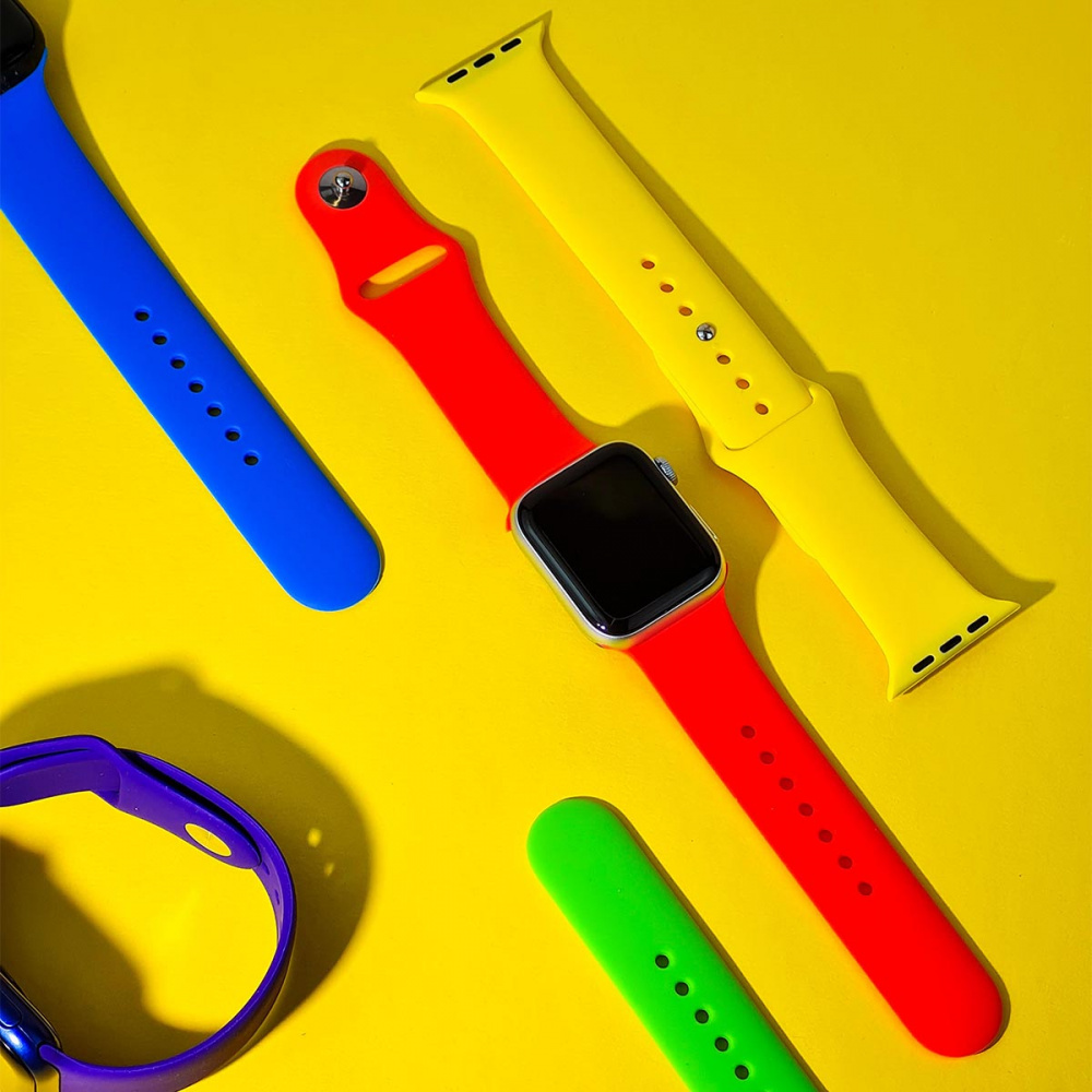Ремешок Apple Watch Sport Band 42 mm/44 mm (M) 2pcs - фото 2