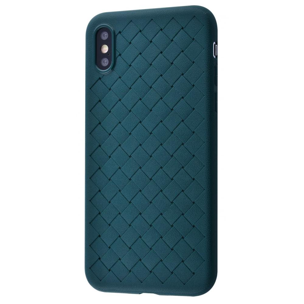 Weaving Full Case (TPU) iPhone X/Xs - фото 1