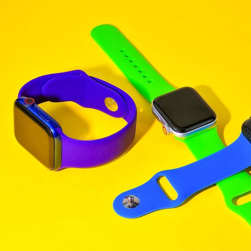 Ремешок Apple Watch Sport Band 38 mm/40 mm (S/M & M/L) 3pcs - фото 3
