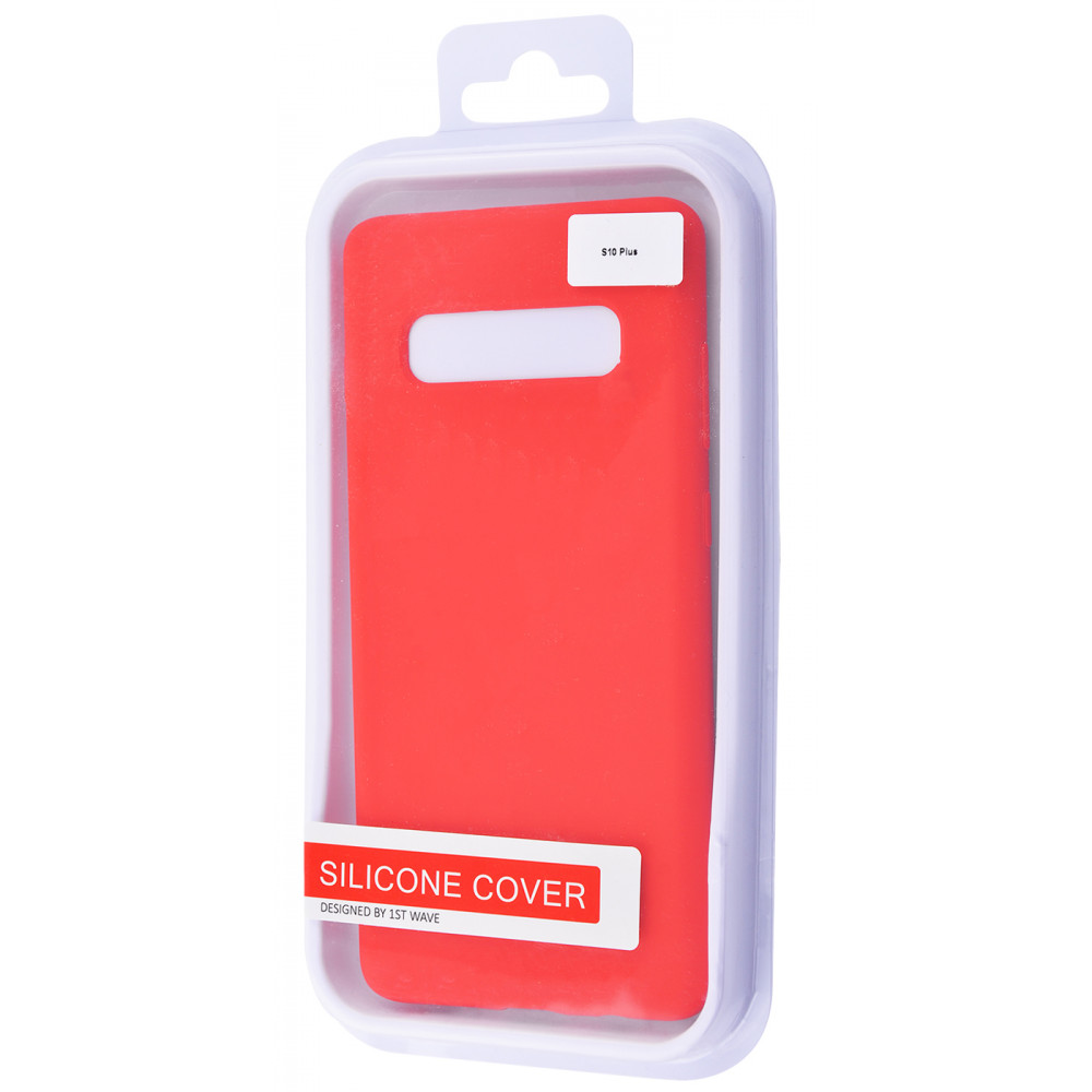 WAVE Full Silicone Cover Samsung Galaxy S10 Plus (G975) - фото 1