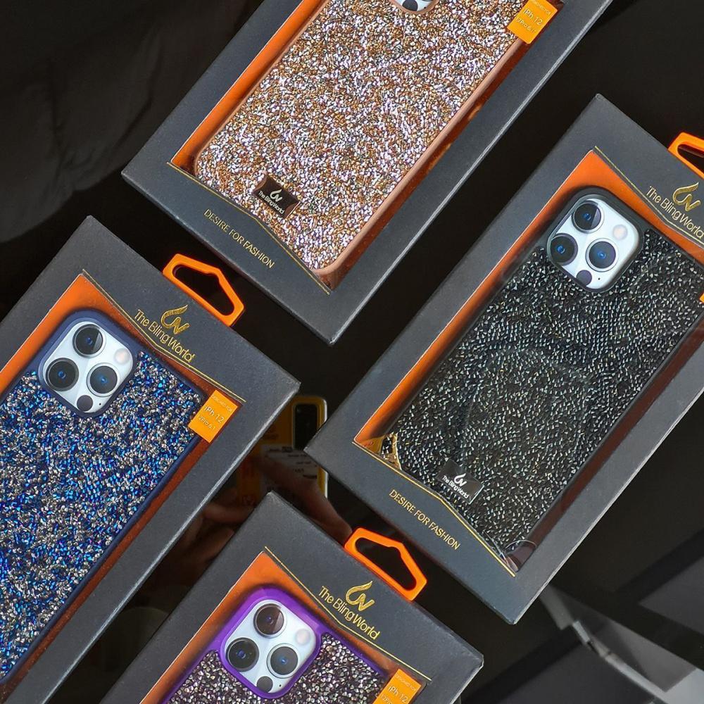 Bling World Grainy Diamonds (TPU) iPhone X/Xs - фото 2