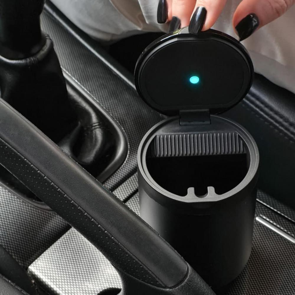 Автомобильная Пепельница Baseus Premium Car Ashtray - фото 2