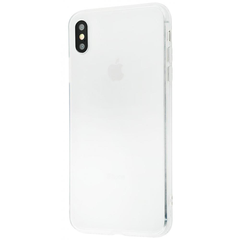 Силикон 0.8 mm iPhone Xs Max