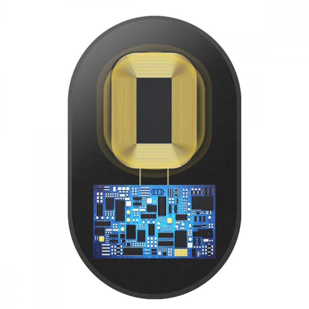 Переходник Для Беспроводной Зарядки Baseus Microfiber Receiver (For iPhone) - фото 4