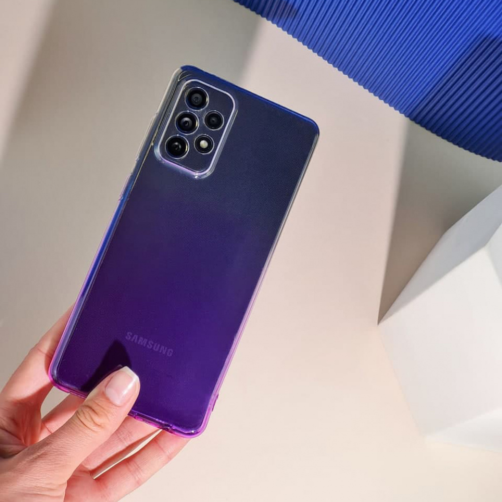 Силикон 0.5 mm Gradient Design Samsung Galaxy A01 (A015F) - фото 5