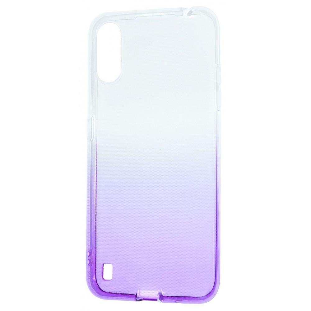 Силикон 0.5 mm Gradient Design Samsung Galaxy A01 (A015F) - фото 11