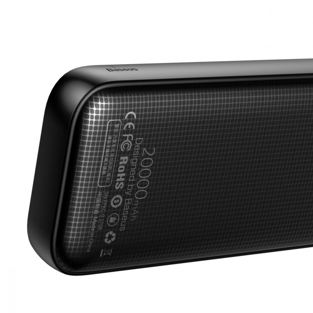 Портативная Батарея Baseus Powerful Type-C PD QC3.0 20000 mAh - фото 5