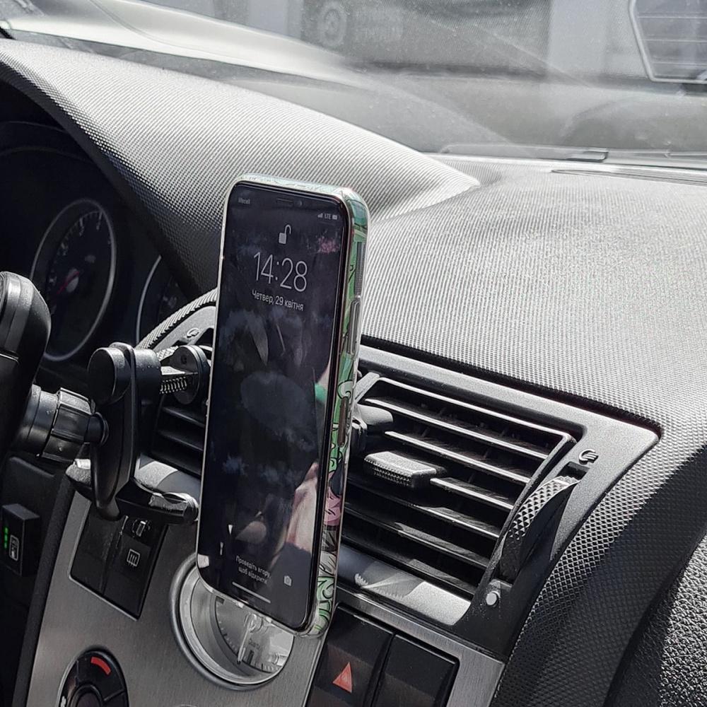 Автодержатель Baseus Magnetic Air Vent Car Mount With Cable Clip - фото 2