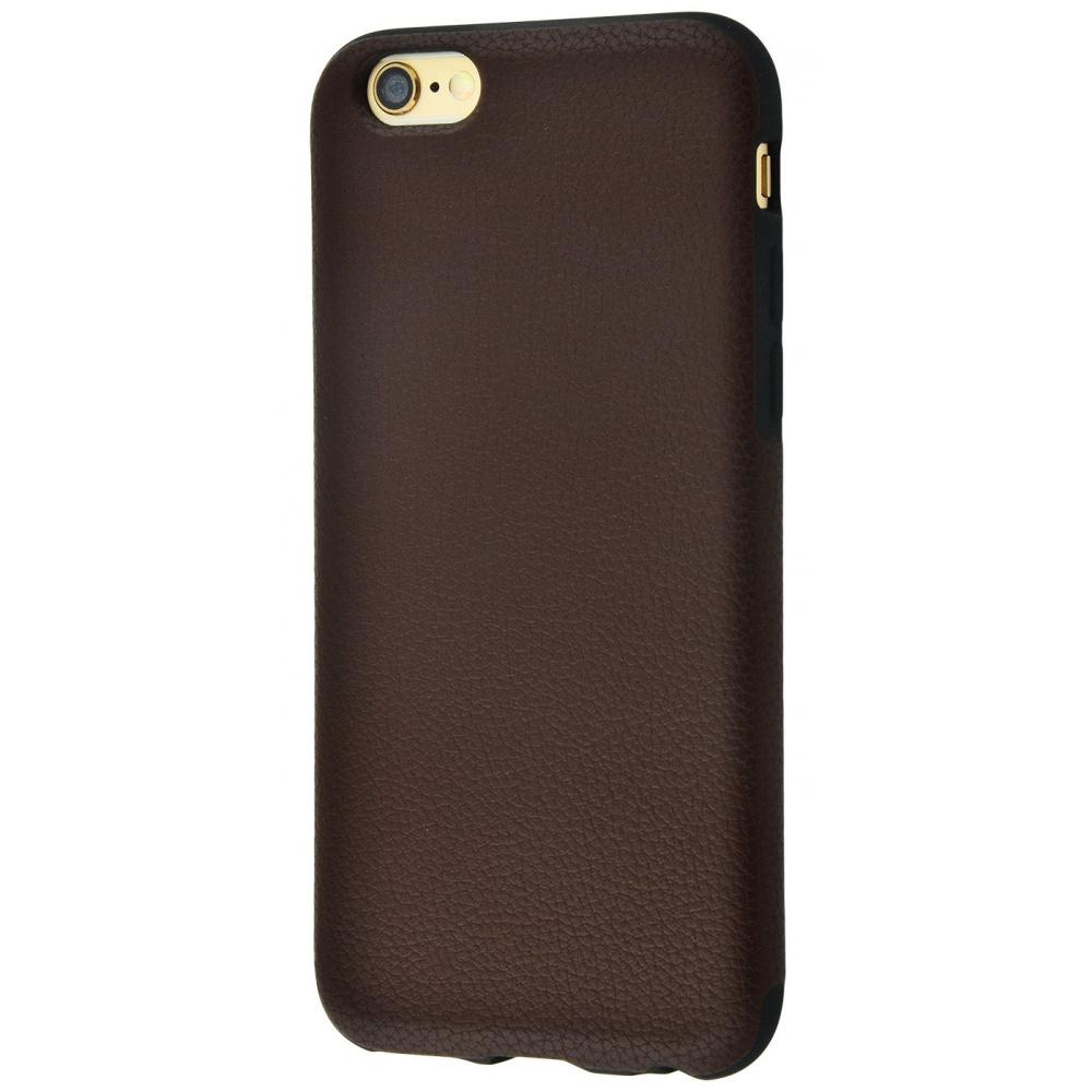 Накладка под кожу Grainy Leather iPhone 6/6s