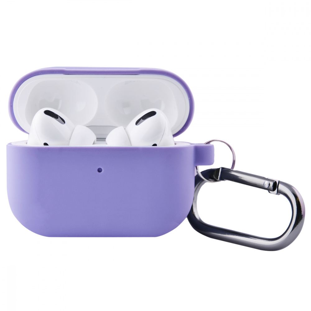 Silicone Case Slim with Carbine for AirPods Pro - фото 2