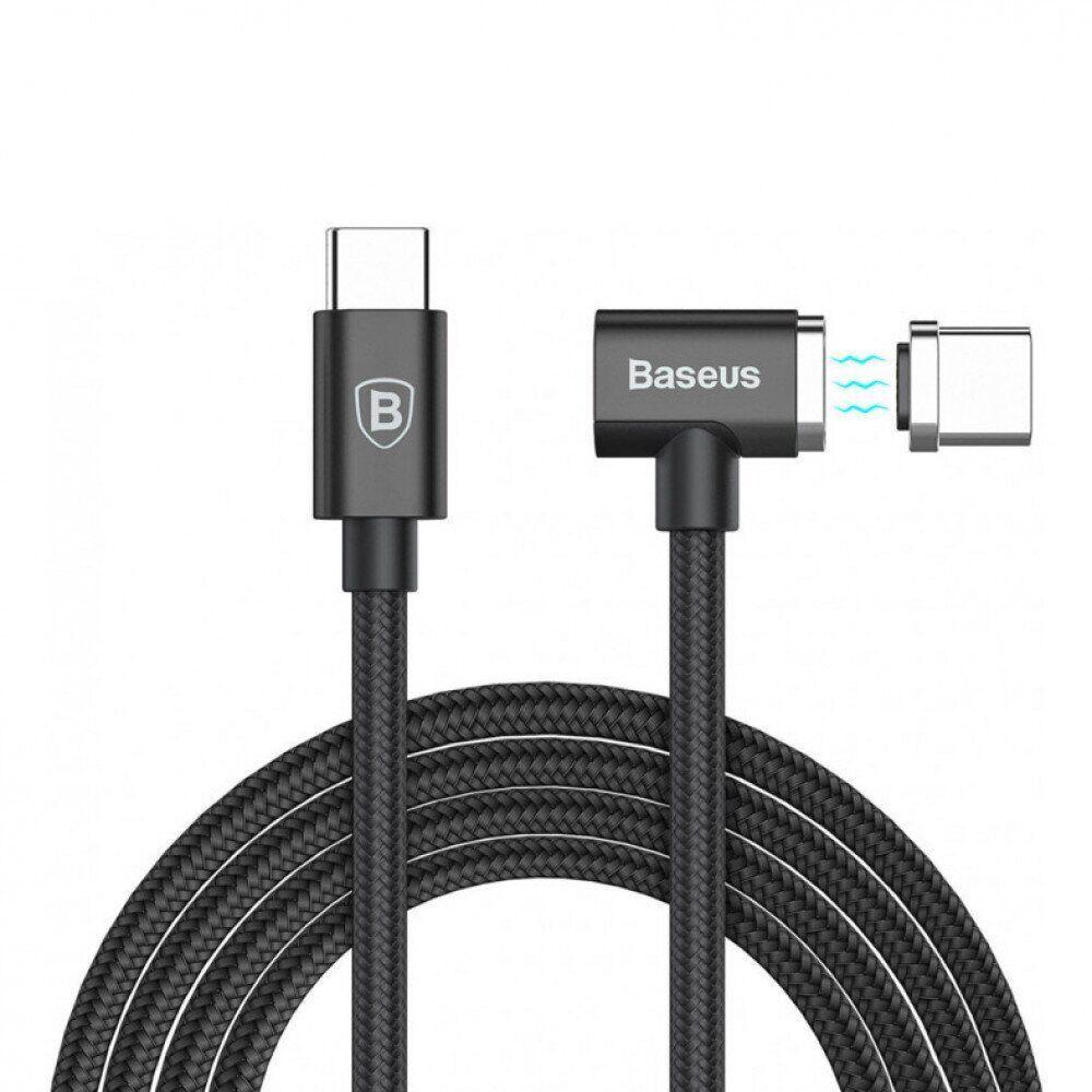 Кабель Baseus Magnet Type-C For Charge MacBook 86W 4.3A (1.5m) - фото 3