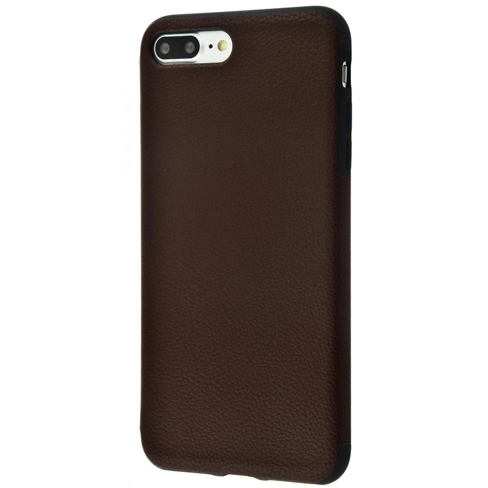 Накладка под кожу Grainy Leather iPhone 7 Plus/8 Plus - фото 1