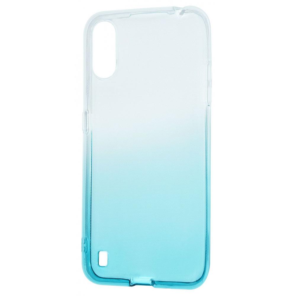 Силикон 0.5 mm Gradient Design Samsung Galaxy A01 (A015F) - фото 6