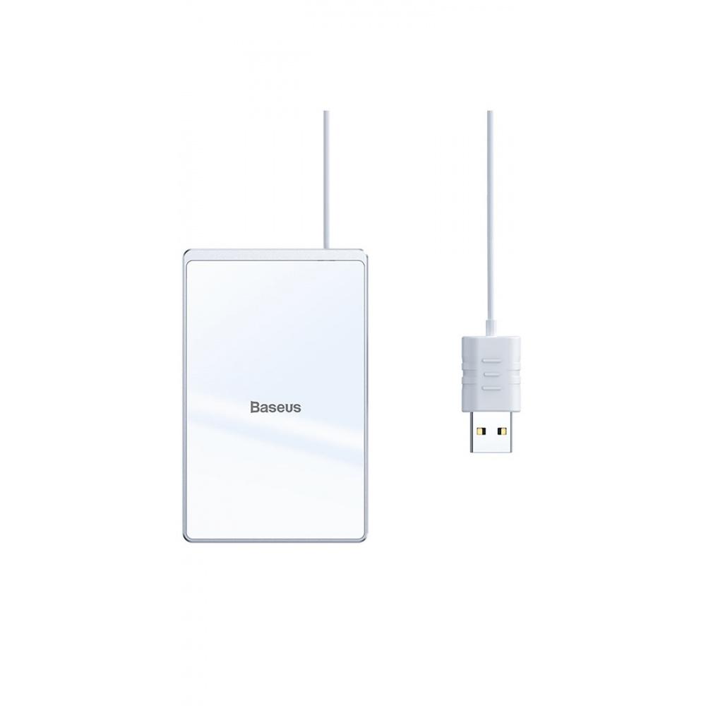 Беспроводное ЗУ Baseus Card Ultra-Thin 15W (with USB cable 1m) - фото 6