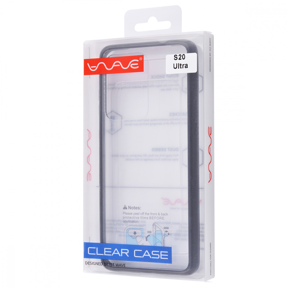 WAVE Clear Case (PC+TPU) Samsung Galaxy S20 Ultra (G988) - фото 1
