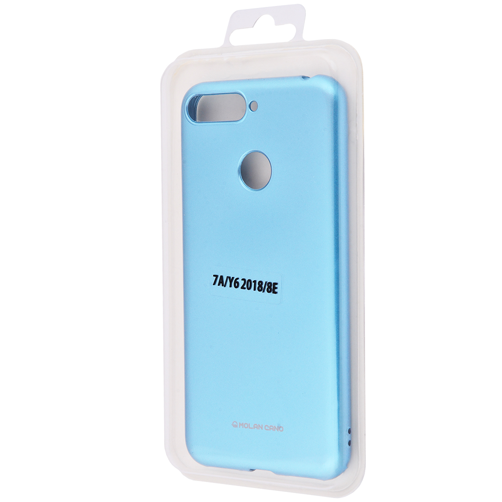 Molan Cano Glossy Jelly Case Huawei Y6 Prime 2018/7A Pro/7C/Enjoy 8e - фото 1