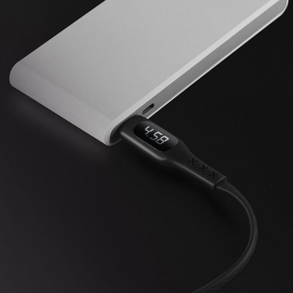 Кабель Hoco S6 Sentinel Timing Display Lightning (1.2m) - фото 3